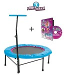 TV Unser Original POWER MAXX Fitness-Trampolin + DVD Basic